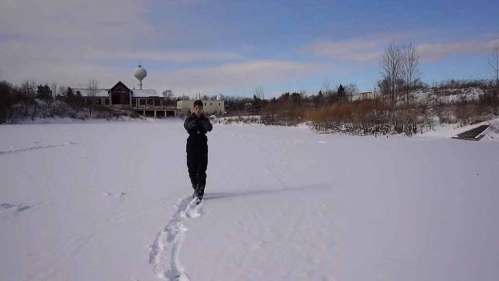 How to ice fishing