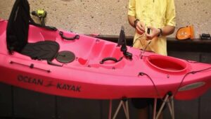 how to install fish finder on a kayak